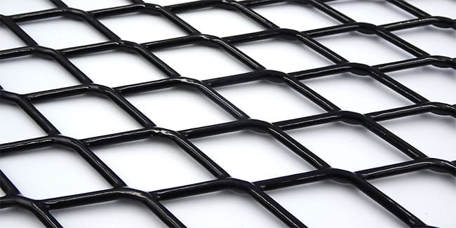エキスパンドメタル-樹脂コーティング