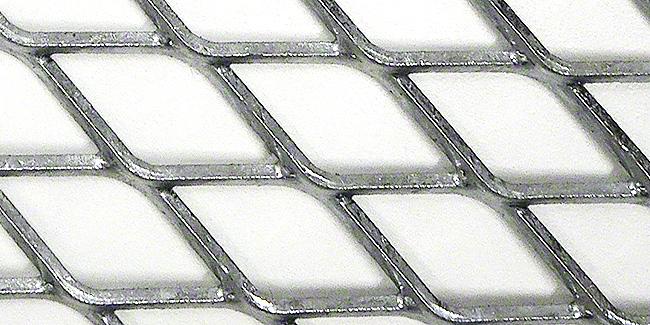 エキスパンドメタル-亜鉛メッキ加工