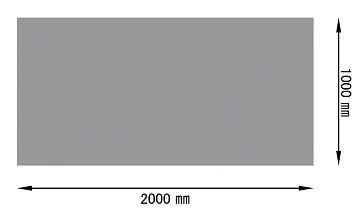 パンチングメタル アルミ 定尺サイズ(規格)1000×2000