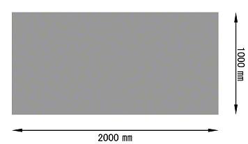 パンチングメタル ステンレス(SUS)定尺サイズ(規格)1000×2000