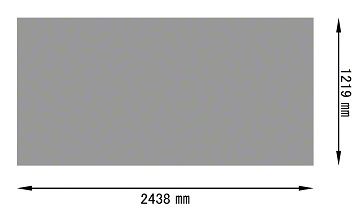 パンチングメタル ステンレス(SUS)定尺サイズ(規格)1219×2438
