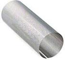 パンチングメタル円筒形状-パンチングパイプ