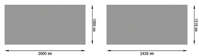 パンチングメタル規格サイズ-ステンレス(SUS304)