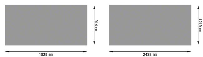 パンチングメタル規格サイズ-鉄/スチール